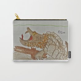 Alligator Snapping Turtle Carry-All Pouch