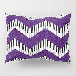 Chevron in the key of purple Pillow Sham