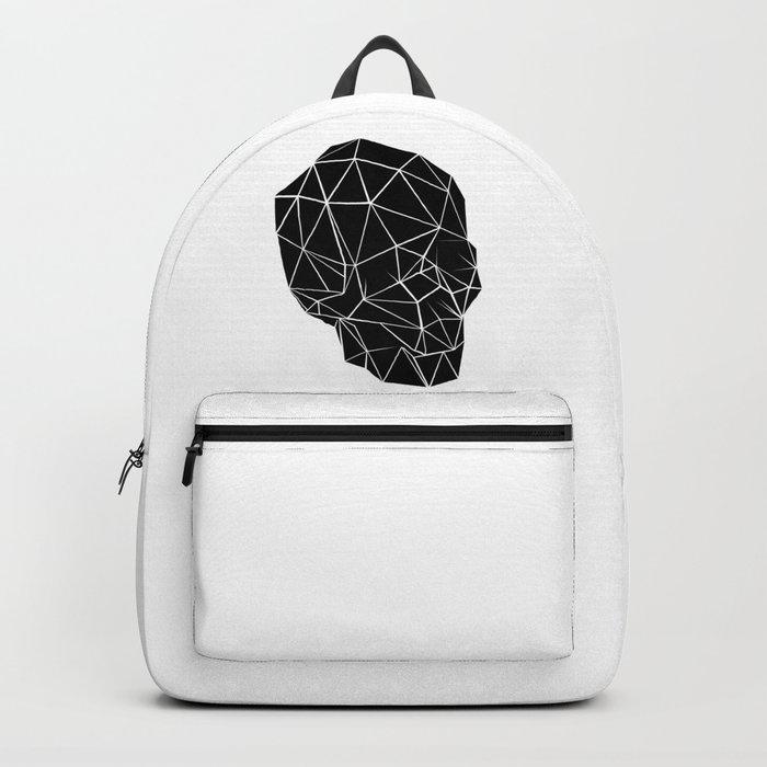 Geometric Skull Backpack