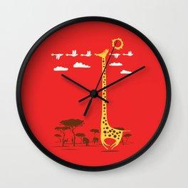 I'm Like A Bird Wall Clock
