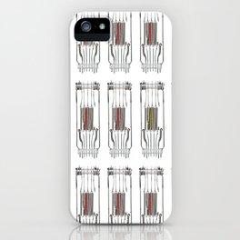 Heating Spirals iPhone Case