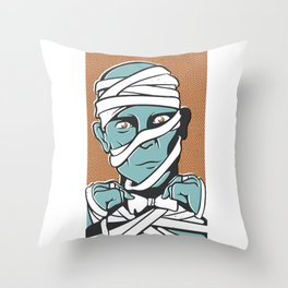 Mummy Throw Pillow