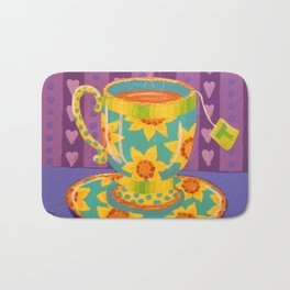 My Morning Cuppa Sunshine Bath Mat