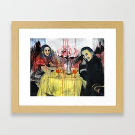 Can't Trust Us: Bela Lugosi and Lillian Arch Framed Art Print