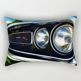 The blue R/T Rectangular Pillow