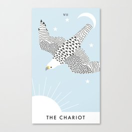 Talon Tarot - The Chariot Canvas Print