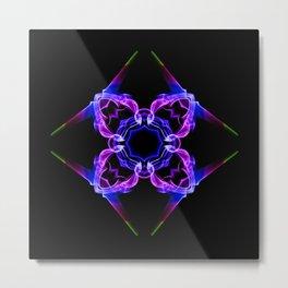 Smoke flower Metal Print