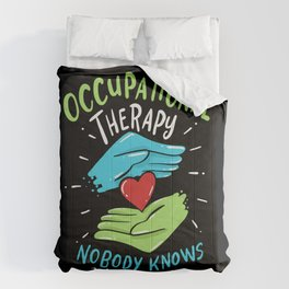 Occupational Therapy Therapist Nurse Gift Comforters