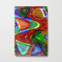 Abstract Nightscapes Metal Print