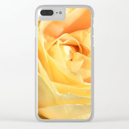 tea rose Clear iPhone Case