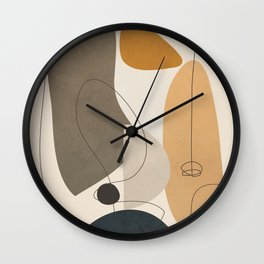 Abstract Minimal Shapes 26 Wall Clock