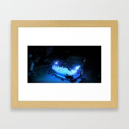 The Break  Framed Art Print