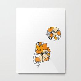 Hawaiian Mango Metal Print