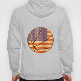 Basketball Stars And Stripes Hoody