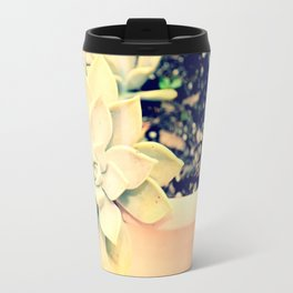 WhiteFlower Travel Mug