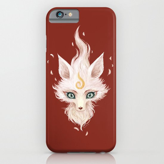 White Fox iPhone & iPod Case