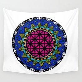 Colourful Mandala Wall Tapestry