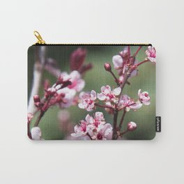 Red Plum Blossoms Carry-All Pouch