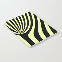 Abstract floral design Notebook