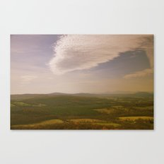 Mountains and Valleys Canvas Print