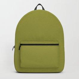 "Green khaki ""Golden Lime"" Pantone color Backpack"