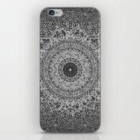 islam iPhone & iPod Skins featuring Ash Mandala by Mantra Mandala