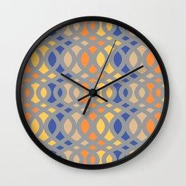 Swirl Crescent Wall Clock