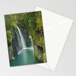 The Takachiho Gorge on the island of Kyushu, Japan Stationery Cards