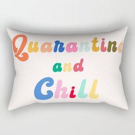 Quarantine and Chill Rectangular Pillow