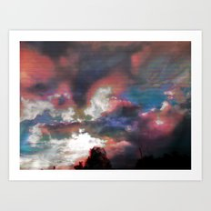Sky View As Seen On TV Art Print