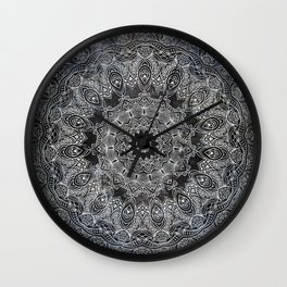 BLACK MANDALA BELLESA NEGRE Wall Clock