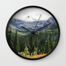 Tatry Koscielec Orla Perc Mountains Wall Clock