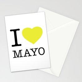 I LOVE MAYONNAISE Stationery Cards