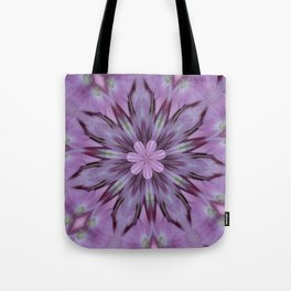Floral Abstract Of Pink Hydrangea Flowers Tote Bag