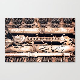 Complex Metal Playing Field Canvas Print