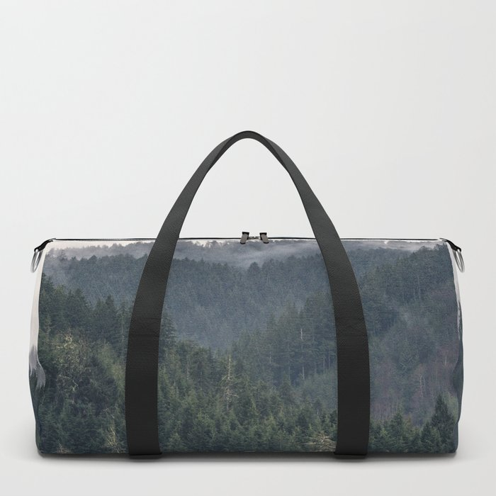Pacific Northwest Forest - Nature Photography Duffle Bag