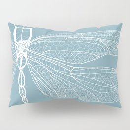 Dragonfly on Blue Pillow Sham