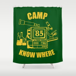 KNOW WHERE Shower Curtain