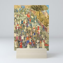 "Maurice Prendergast ""Steps of Santa Maria d'Aracoeli Rome"" Mini Art Print"