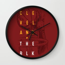 Cleveland - The Block Wall Clock