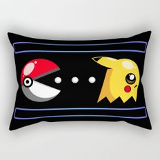 The Chase Is On Rectangular Pillow