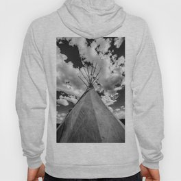 Black and White Teepee Hoody