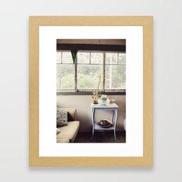 Summer House Framed Art Print