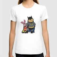pooh T-shirts featuring Bat Pooh by thedoormouse
