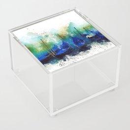 Venice Gondola painting Acrylic Box