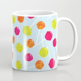 Watercolour Lolly Pops, Watercolor Popsicles Coffee Mug