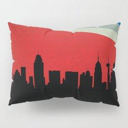 San Antonio Skyline Pillow Sham