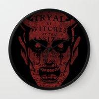 satan Wall Clocks featuring Satan by Gurven