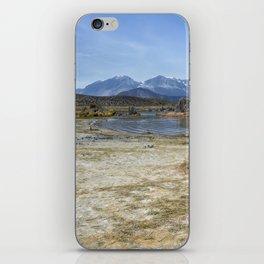 Mono Lake Tufa, No. 4 iPhone Skin