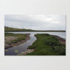 The Loch of Vatsetter Canvas Print